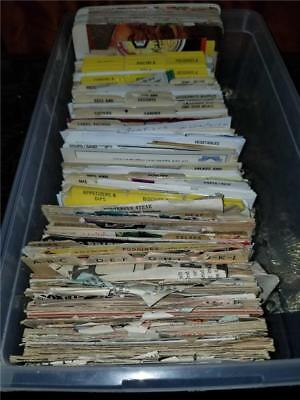 Huge Lot Vintage Hand Written Recipe Cards Magazine & Newspaper Clippings ++