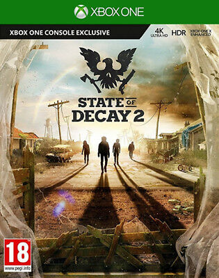 State Of Decay 2 Xbox One * NEW SEALED PAL *