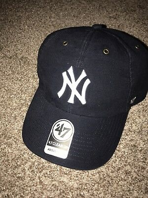21c069081bb57 New York Yankees 47 Brand Carhartt Limited Edition Clean Up Adustable Hat  Cap