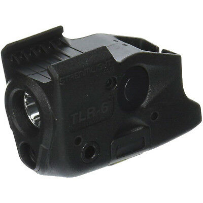 Streamlight TLR-6 Fits Glock 17/22 and 19/23 Black White LED and Red Laser,