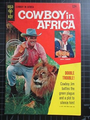 Gold Key Cowboy In Africa 1-Shot Chuck Connors 1967