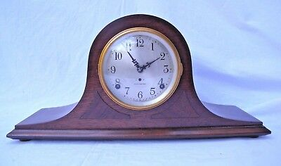 Antique c.1924  Seth Thomas Cabinet 8 Day Mantel Clock Cymbal #4