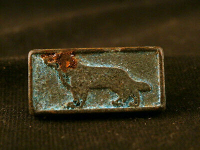 Fine Chinese Bronze *Dog* Small Seal Pendant Y011