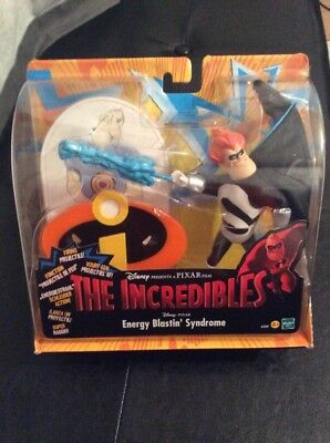2004 hasbro the incredibles movie figure sets energy blasting syndrome