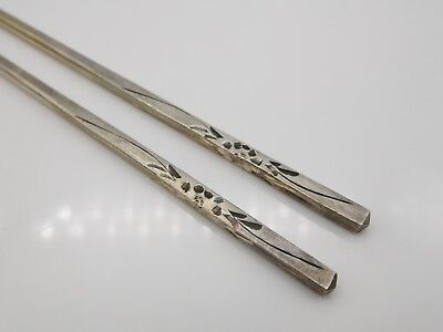 CHINESE Solid Sterling Silver Chopsticks