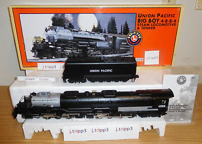 Lionel 28029 Union Pacific Up Big Boy Steam Engine Locomotive Train O Scale Tmcc
