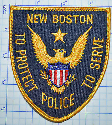 New Hampshire, New Boston Police Dept Patch