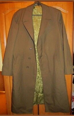 Genuine USSR  Everyday Coat Cloak Soviet Russian Army Military Uniform reenactme