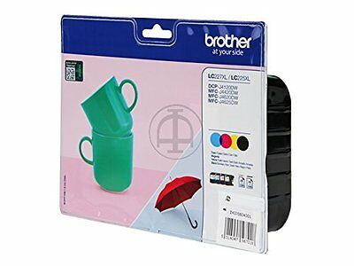 Brother LC-227XL 4er Valuepack Tinte NEU