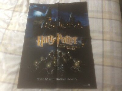Harry Potter And The Philosopher's Stone - Store Preview Poster (2001) (1)