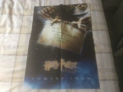 Harry Potter And The Philosopher's Stone - Store Preview Poster (2001) (2)