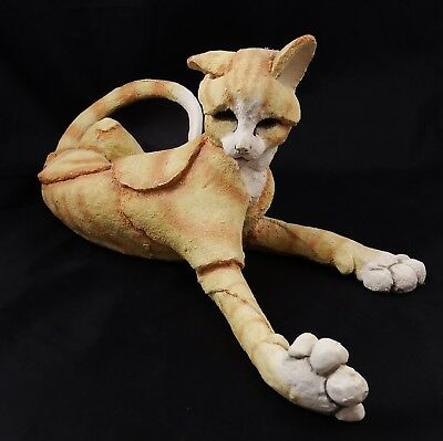 Lovely Large Breed Apart CA02235 Country Artists Ginger Cat Marmalade