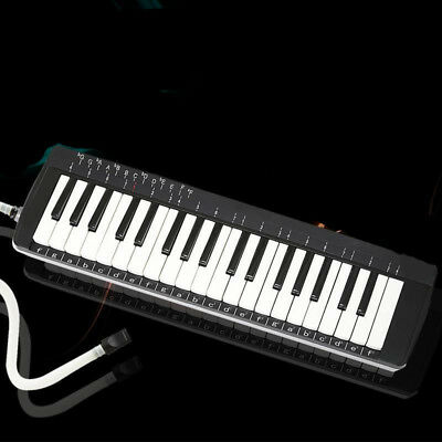A10 37 Piano Keys Black Musical Instrument Melodica Pianica With Carrying Bag O