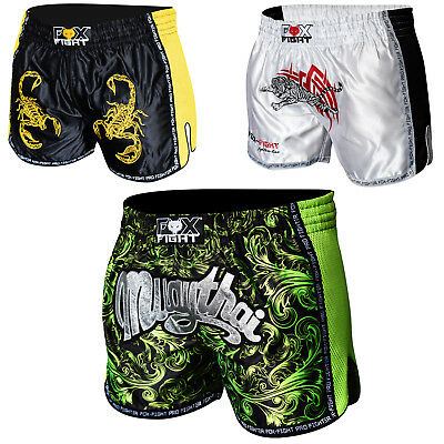 FOX-FIGHT MMA Fight Hosen Short Muay Thai Kickboxen UFC Kampfsport Boxen Shorts