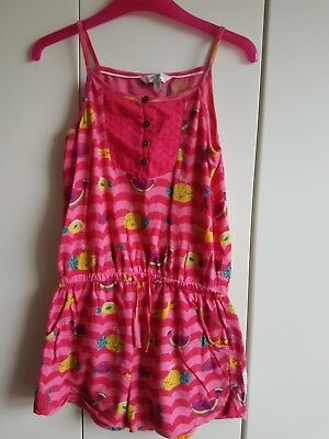 Fat face girls playsuit 10 -11yrs