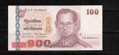 Thailand Thai #113 2004 100 Baht Xf Circ Banknote Paper Money Currency Bill Note