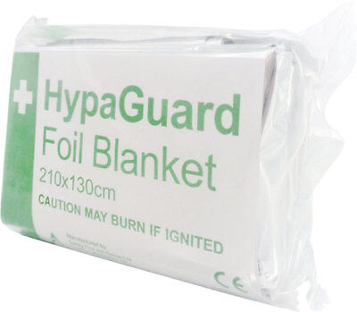 Click Medical First Aid Foil Blanket Hypothermia Insulation Accident Emergency