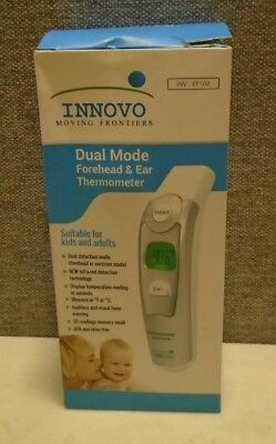 Innovo Medical Digital Forehead and Ear Thermometer 2017 Model - Temperature and