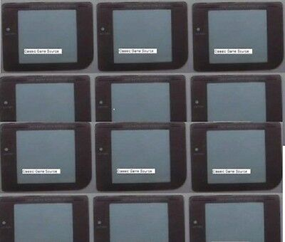 10 Gray Screens + 10 Play it loud + 5 Grey battery covers For Game Boy Original