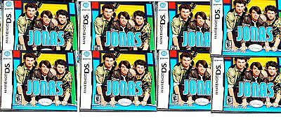 8 New Sealed Wholesale Lot Of Jonas Games For Nintendo Ds Nds