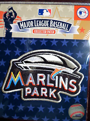 MLB Official Miami Marlins New Stadium Commemorative Patch Road Jersey 2012