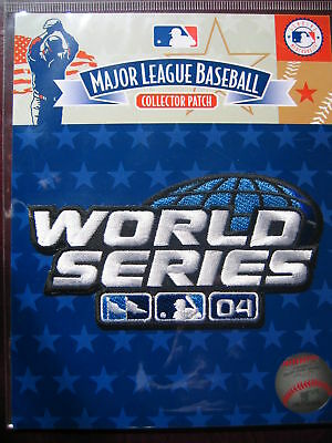 MLB Official 2004 World Series Patch Red Sox Cardinals