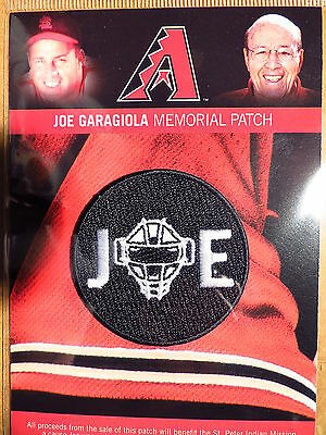 MLB Official Authentic Joe Garagiola (2/12/1926 - 3/23/2016) Tribute Patch 2016