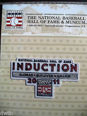 MLB Official Hall of Fame Inductee Patch 2011