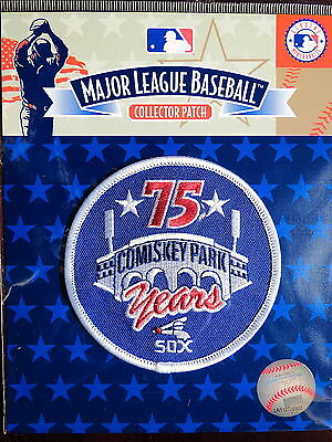 MLB Authentic Chicago White Sox Comiskey Park 75th Anniversary Patch 1985
