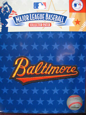 MLB Official Baltimore Orioles 'baltimore' Script Patch