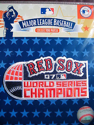 MLB Boston Red Sox 2007 World Series Champions Patch