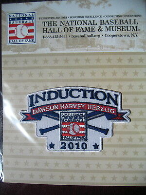 MLB Official Hall of Fame Inductee Patch 2010