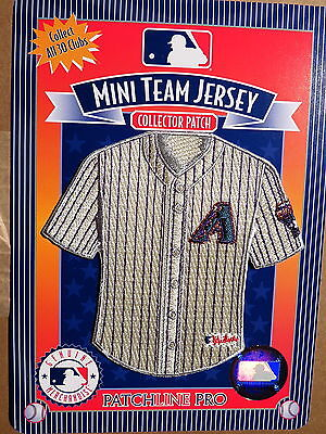 MLB Arizona Diamondbacks Home Mini-Jersey 4 Inch Patch From 2006