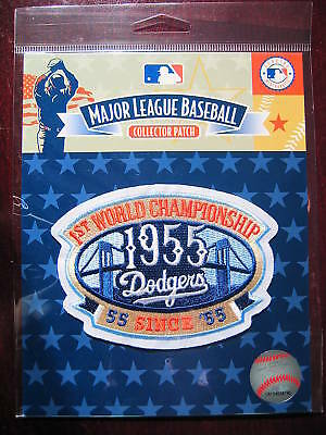MLB LA Dodgers 55th Anniv 1955 World Series Champs 2010