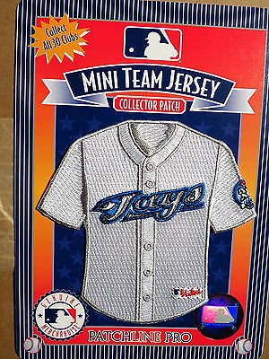 MLB Toronto Blue Jays Home Mini-Jersey 4 Inch Patch From 2006