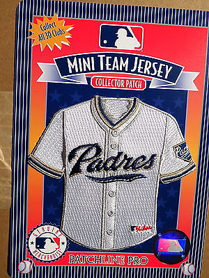 MLB San Diego Padres Home Mini-Jersey 4 Inch Patch From 2006