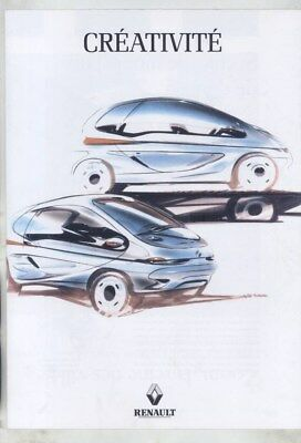 1993 Renault Matra Zoom Espace Scenic Concept Brochure Poster French wz4107