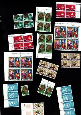 3623 Luxembourg - Luxemburg lovely selection of MNH stamps MIXED
