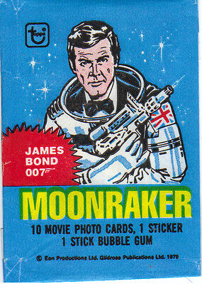 1979 Moonraker 22 sticker set nr.mint by Topps
