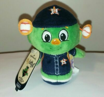 Hallmark Itty Bitty Bittys ~ ORBIT MLB Baseball (Houston Astros Mascot) SE NWT'S