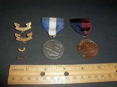 Vintage Original Bsa Boy Scouts Of America Pins And Medals Lot