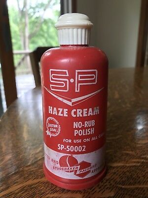 Studebaker Packard S-P Haze Cream No Rub Polish Luster Seal
