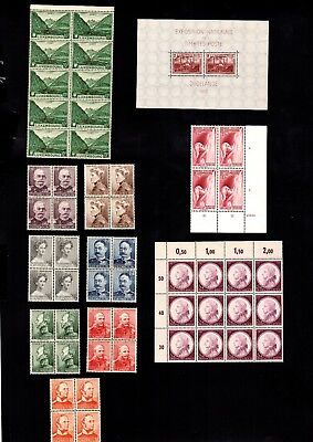 3643 Luxembourg - Luxembourg lovely selection of MNH stamps MIXED