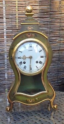 Early 20Th Century Braket Clock Swiss Movement
