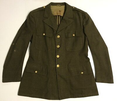 Original WWII US Army 4 Pocket Blouse 1942 Dated, Size 44R