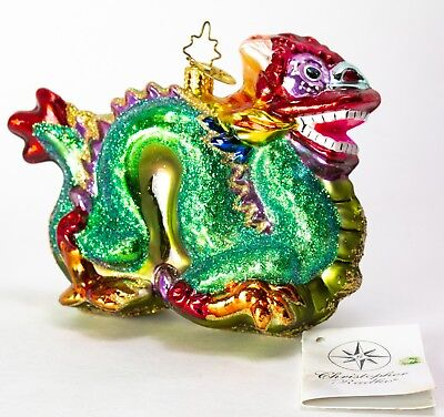 CHRISTOPHER RADKO Year of the DRAGON ORNAMENT RETIRED 2002