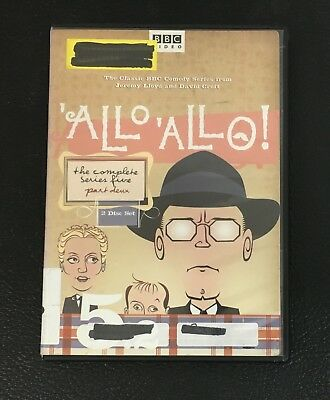 Allo, Allo! The Complete Series Five - Part Two (DVD, 2006, 2-Disc Set) BBC