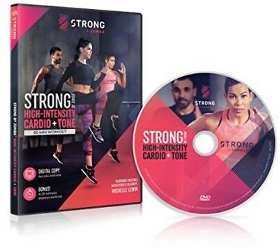 Strong: High-Intensity Cardio & Tone Workout (REGION 1 DVD New)