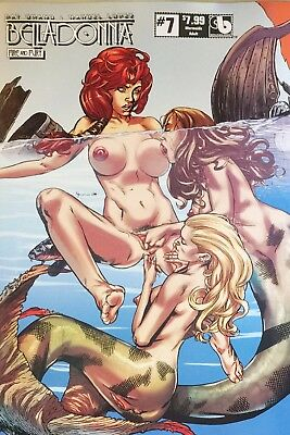 Boundless Belladonna Fire and Fury #7 Mermaids Adult Variant