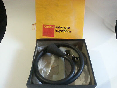 Kodak Automatic Tray Siphon With Box